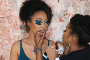 Carnival makeup by Lamme